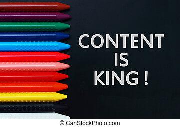 mots, motivation, roi, internet, citations, contenu, média, concept, social