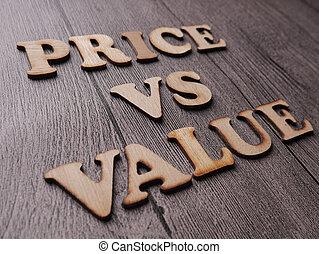 mots, vs, motivation, valeur, coût, citations, concept