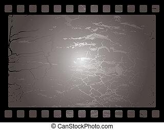 mottled film background - Mottled film background in black...