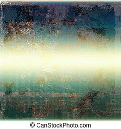 Mottled vintage background with grunge texture and different color patterns: yellow (beige); brown; blue; gray; cyan