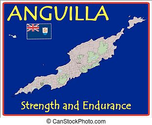 motto, anguilla