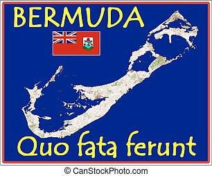 motto, bermude