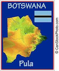 motto, botswana