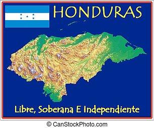 motto, honduras