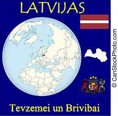 motto, lettland