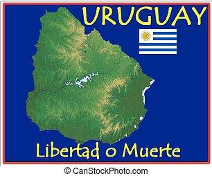 motto, uruguay
