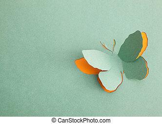 motyl, origami