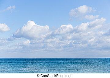 motyw morski, światło słoneczne