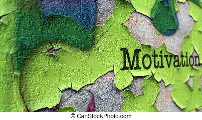 motywacja, pojęcie, grunge