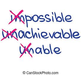 Motywacja, Słówko, powodzenie