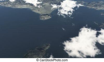 mouche, île