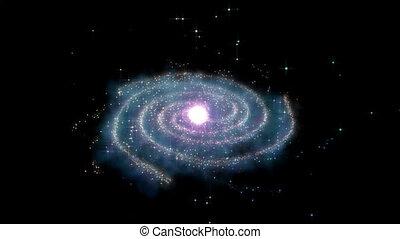 mouche, galaxie