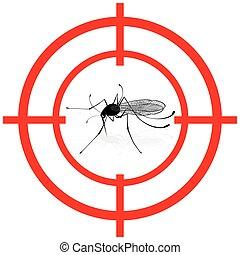 moucheron, cible, système sanitaire, institutionnel, signal, mira, apparenté, moustiques, signaler, moustique, vector., care., informationnel, idéal