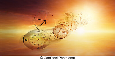 mouches, temps