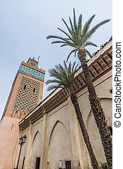 moulay, al, yazid, 清真寺, 在, marrakech, 摩洛哥