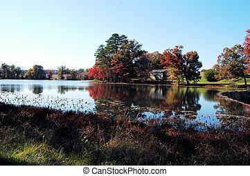 moulin, murrays, automne
