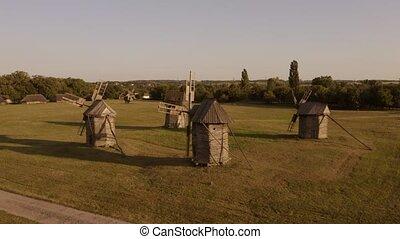 moulins, vieux, field., rustique