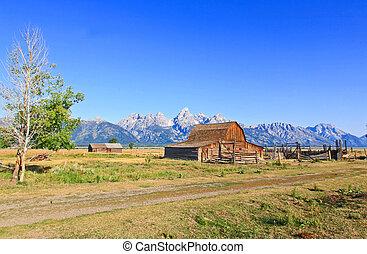 Moulton Barn at Grand Teton