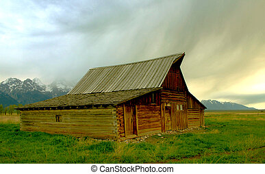 Historic barn, Wyoming