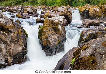 Moulton Falls State Park, Washington State USA