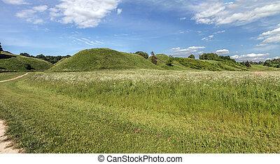 Mounds panorama