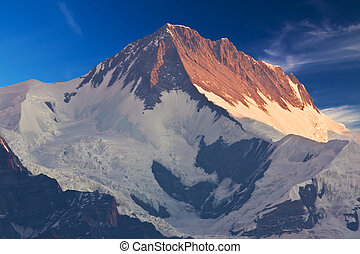 Mount Annapurna II at Dawn, Nepal