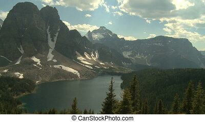 Mount Assiniboine and Lakes in the Canadian Rockies