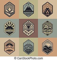 Mount badge set1color1