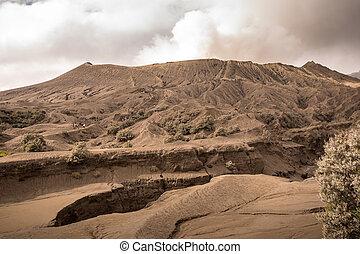 Mount Bromo in East Java, Indonesia. - Mount Bromo volcano ...