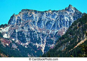 Mount Chikamin Peak Snoqualme Pass Wenatchee National Forest Wilderness Washington