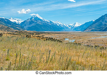 Mount Cook, NZ - Mount Cook, South Island, New Zealand