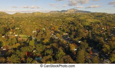 Mount Diablo Mountain Range Contra Costa County Northern...