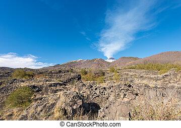 Mount Etna Volcano - Sicily Italy