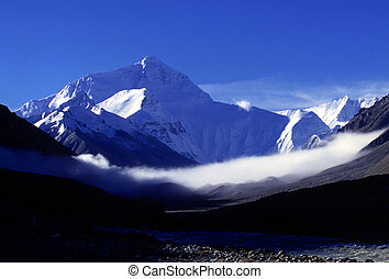 Mount Everest(altitude8848.13M)in Tibet
