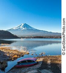 Mount Fuji from Lake Kawaguchiko