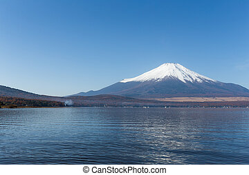 Mount Fuji with Lake Yamanaka