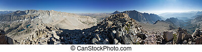 Mount George Davis Summit Panorama