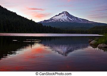 Mount Hood at Trillium Lake 4