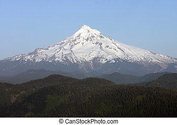 Mount Hood. - Mount Hood as seen from Larch Mountain.