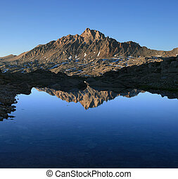 Mount Humphreys reflection