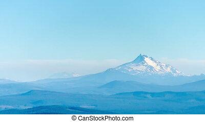 Mount Jefferson Time Lapse