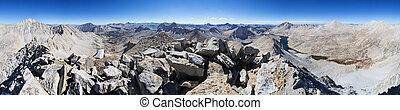 Mount Julius Caesar Summit Panorama