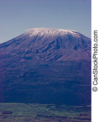 Mount Kilimanjaro in Africa is one of the tallest ...
