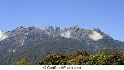 Mount Kinabalu,Borneo,Malaysia - Located in Borneo, Sabah,...