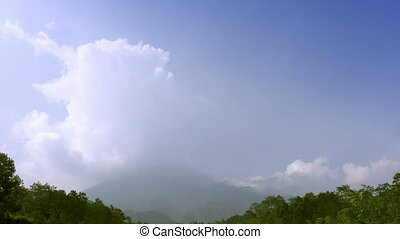 Mount Merapi, Gunung Merapi ,literally Fire Mountain in...