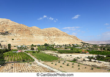 Mount of Temptation in Jericho