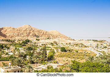 Mount of Temptation next to Jericho - place where Jesus was tempted, Israel