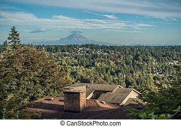 Mount Rainier From Burien 2