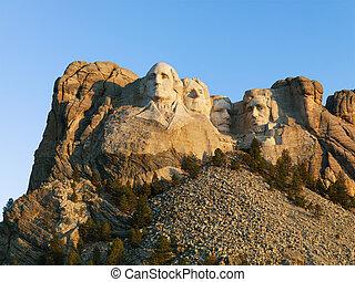 Mount Rushmore. - Mount Rushmore National Memorial.