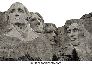 Mount Rushmore National Memorial - Grand View.